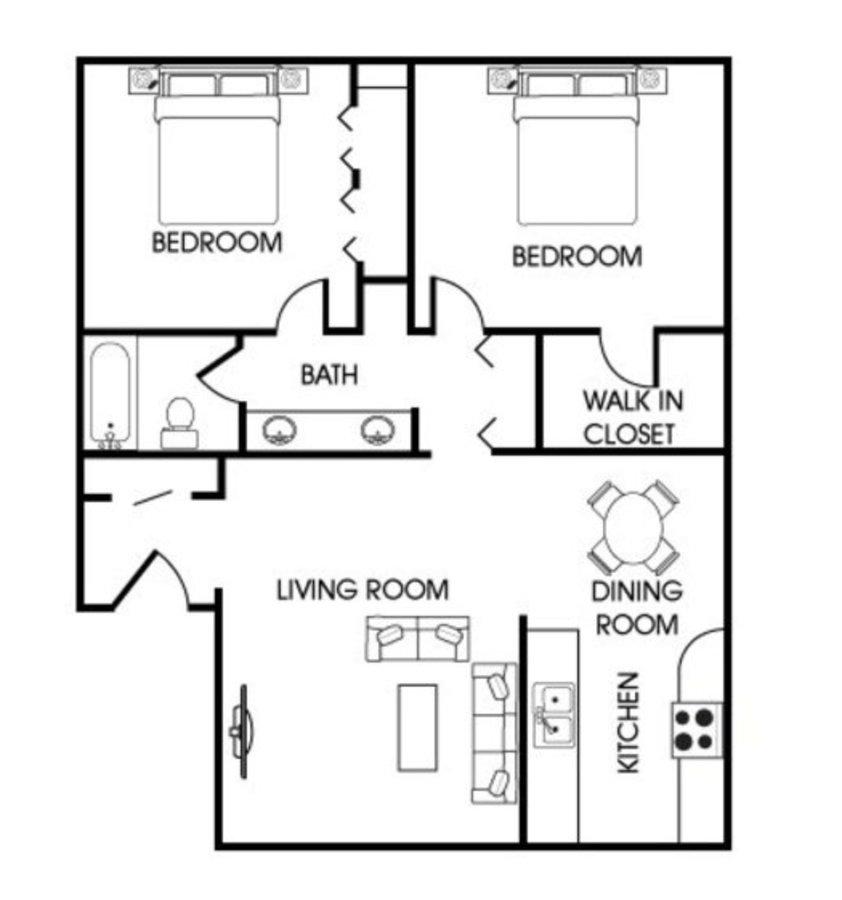 2 Bedrooms 1 Bathroom Apartment for rent at Aspen Leaf in Flagstaff, AZ