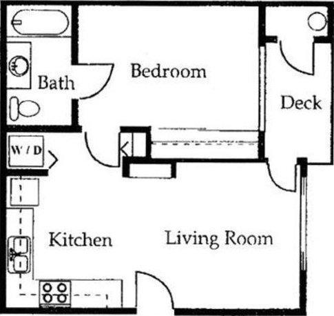 1 Bedroom 1 Bathroom Apartment for rent at University West in Flagstaff, AZ