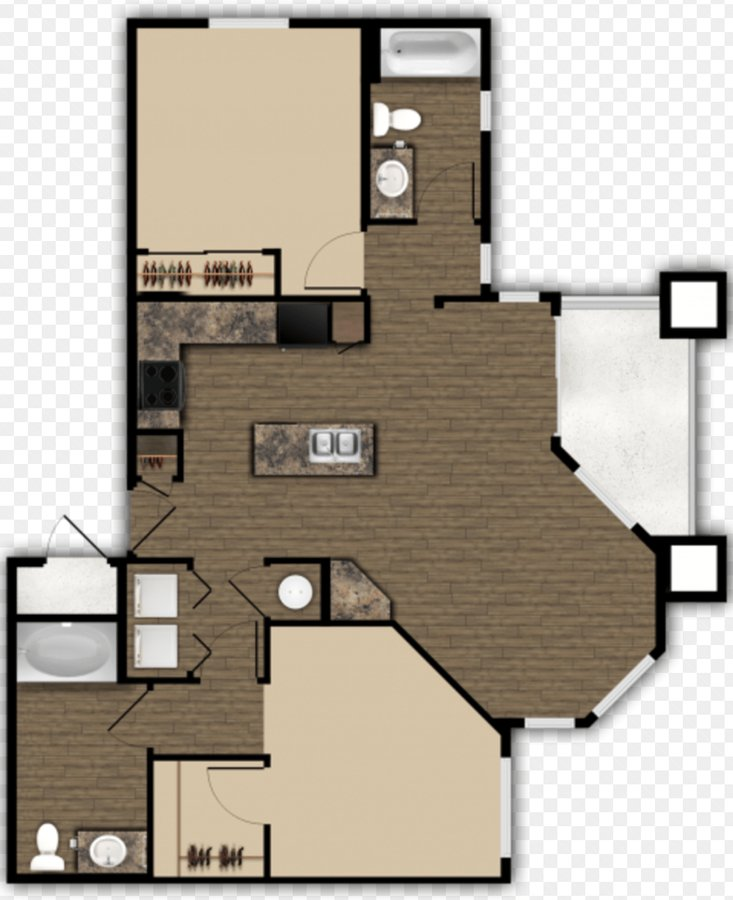 2 Bedrooms 2 Bathrooms Apartment for rent at Elevation Apartments in Flagstaff, AZ