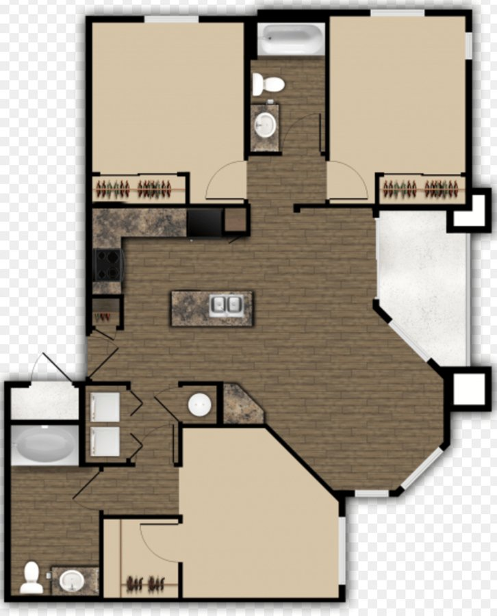 3 Bedrooms 2 Bathrooms Apartment for rent at Elevation Apartments in Flagstaff, AZ