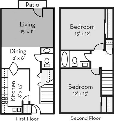 2 Bedrooms 1 Bathroom Apartment for rent at Forest Hills in Wilmington, NC