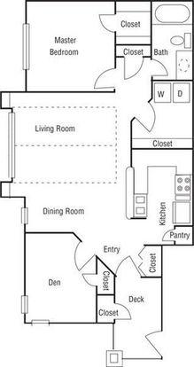 1 Bedroom 1 Bathroom Apartment for rent at A R I U M Pinnacle Ridge in Durham, NC