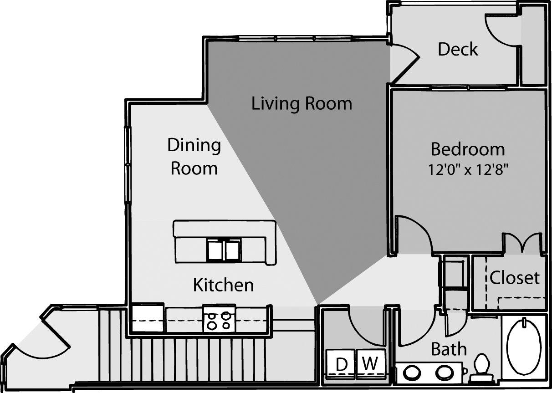 1 Bedroom 1 Bathroom Apartment for rent at ARIUM Weston in Morrisville, NC