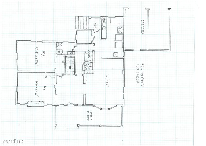 8+ Bedrooms 3 Bathrooms House for rent at 820 Oxford Rd in Ann Arbor, MI
