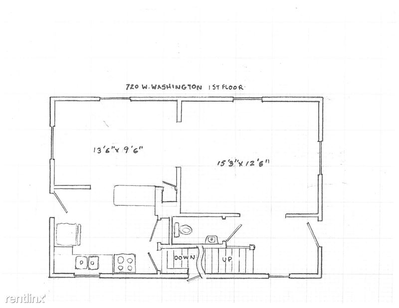 3 Bedrooms 2 Bathrooms House for rent at 720 W Washington St in Ann Arbor, MIMI