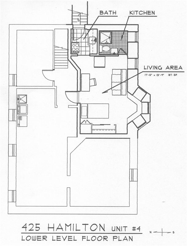 Studio 1 Bathroom House for rent at 423 Hamilton Place in Ann Arbor, MI