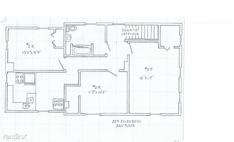 1 Bedroom 1 Bathroom House for rent at 529 Elizabeth St. in Ann Arbor, MI
