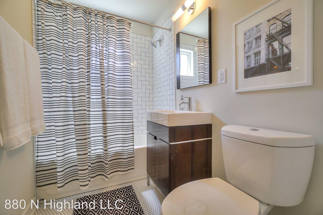 1 Bedroom 1 Bathroom Apartment for rent at 880 North Highland Ave Ne in Atlanta, GA
