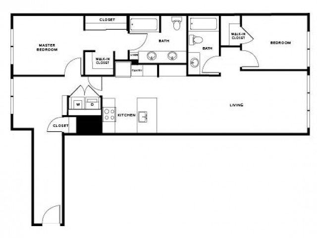 2 Bedrooms 2 Bathrooms Apartment for rent at Modera Capitol Hill in Seattle, WA