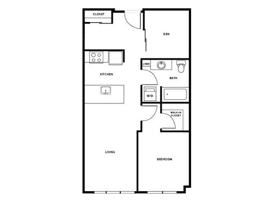 1 Bedroom 1 Bathroom Apartment for rent at Modera Capitol Hill in Seattle, WA