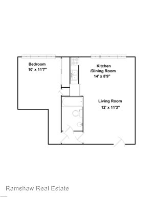 1 Bedroom 1 Bathroom Apartment for rent at 205 E. Healey St in Champaign, IL