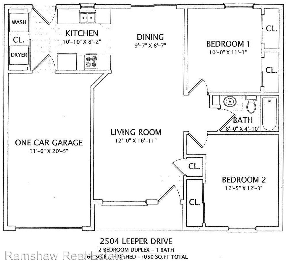 2 Bedrooms 1 Bathroom House for rent at 2504 Leeper Dr in Champaign, IL