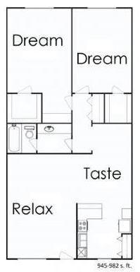 2 Bedrooms 1 Bathroom Apartment for rent at One Eleven Park Avenue in San Antonio, TX