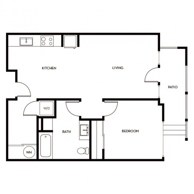1 Bedroom 1 Bathroom Apartment for rent at Gunbarrel Center in Boulder, CO