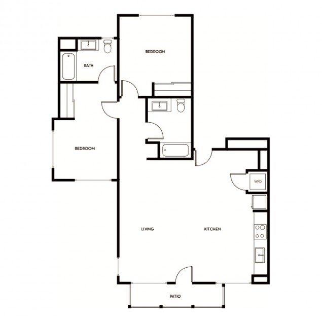 2 Bedrooms 2 Bathrooms Apartment for rent at Gunbarrel Center in Boulder, CO