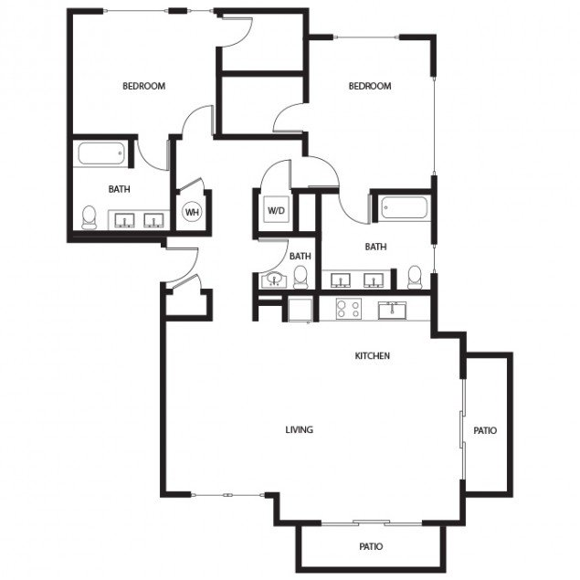 2 Bedrooms 2 Bathrooms Apartment for rent at Gunbarrel Center in Boulder, CO
