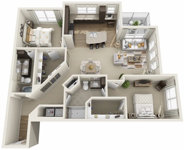 2 Bedrooms 2 Bathrooms Apartment for rent at Two Nine North in Boulder, CO