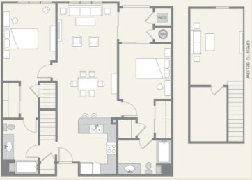 2 Bedrooms 2 Bathrooms Apartment for rent at Pacific Ridge in San Diego, CA