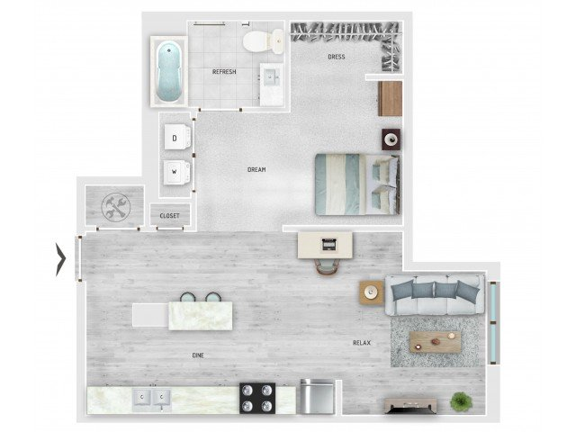 1 Bedroom 1 Bathroom Apartment for rent at Skygarden in Charleston, SC