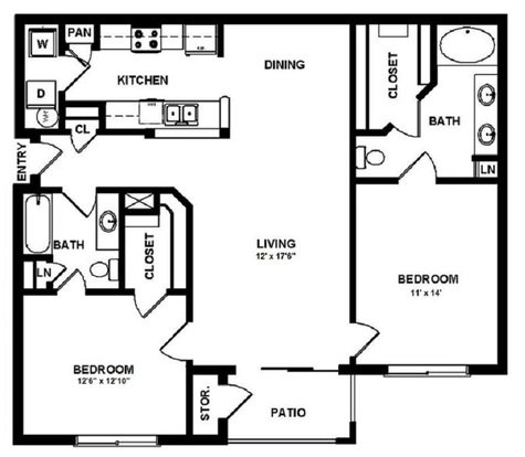 2 Bedrooms 2 Bathrooms Apartment for rent at Mansions In The Park in Baton Rouge, LA