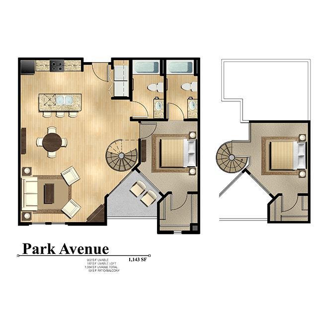 2 Bedrooms 2 Bathrooms Apartment for rent at Level At Sixteenth in Phoenix, AZ