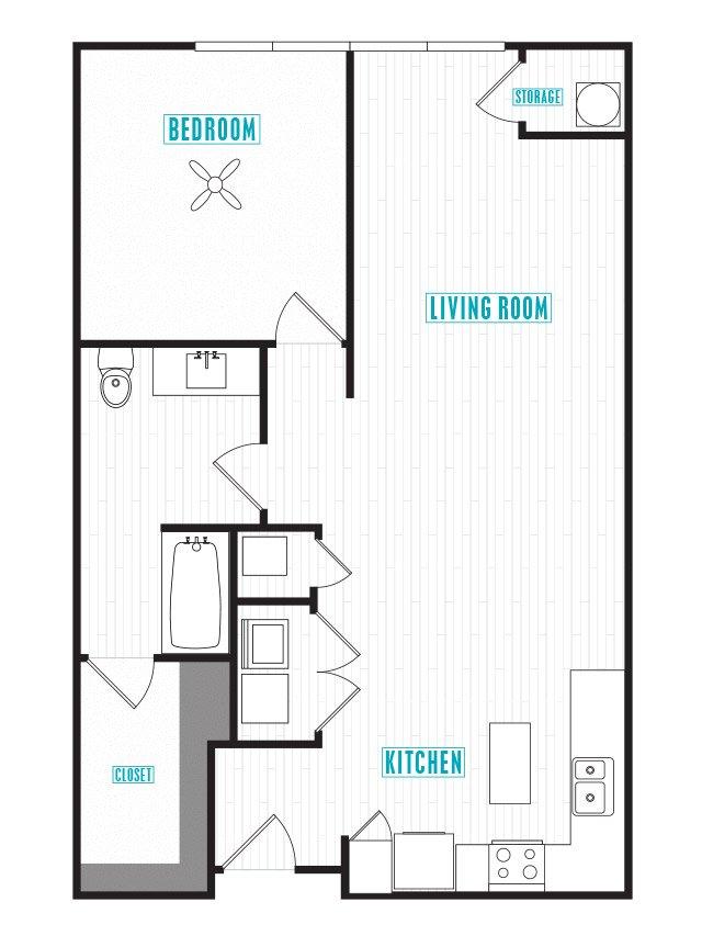 1 Bedroom 1 Bathroom Apartment for rent at Capital Place in Phoenix, AZ