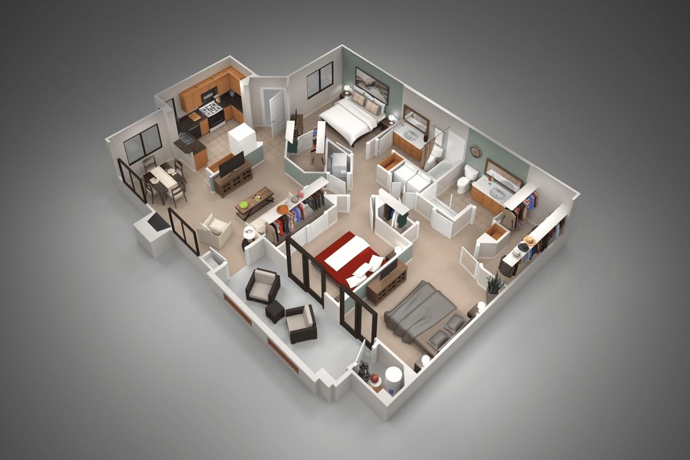 Cool San Pedregal By Mark Taylor Apartments Phoenix Az Interior Design Ideas Grebswwsoteloinfo