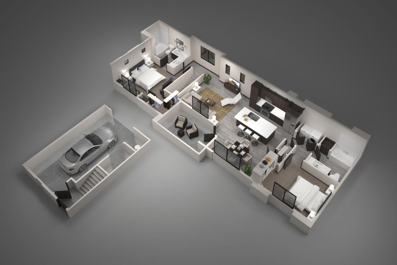 2 Bedrooms 2 Bathrooms Apartment for rent at Aviva in Mesa, AZ