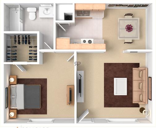 1 Bedroom 1 Bathroom Apartment for rent at Ponderosa Park in Flagstaff, AZ