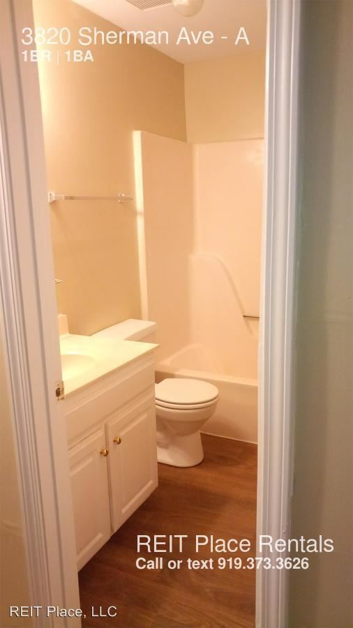 1 Bedroom 1 Bathroom Apartment for rent at 3820 Sherman Ave. in Raleigh, NC
