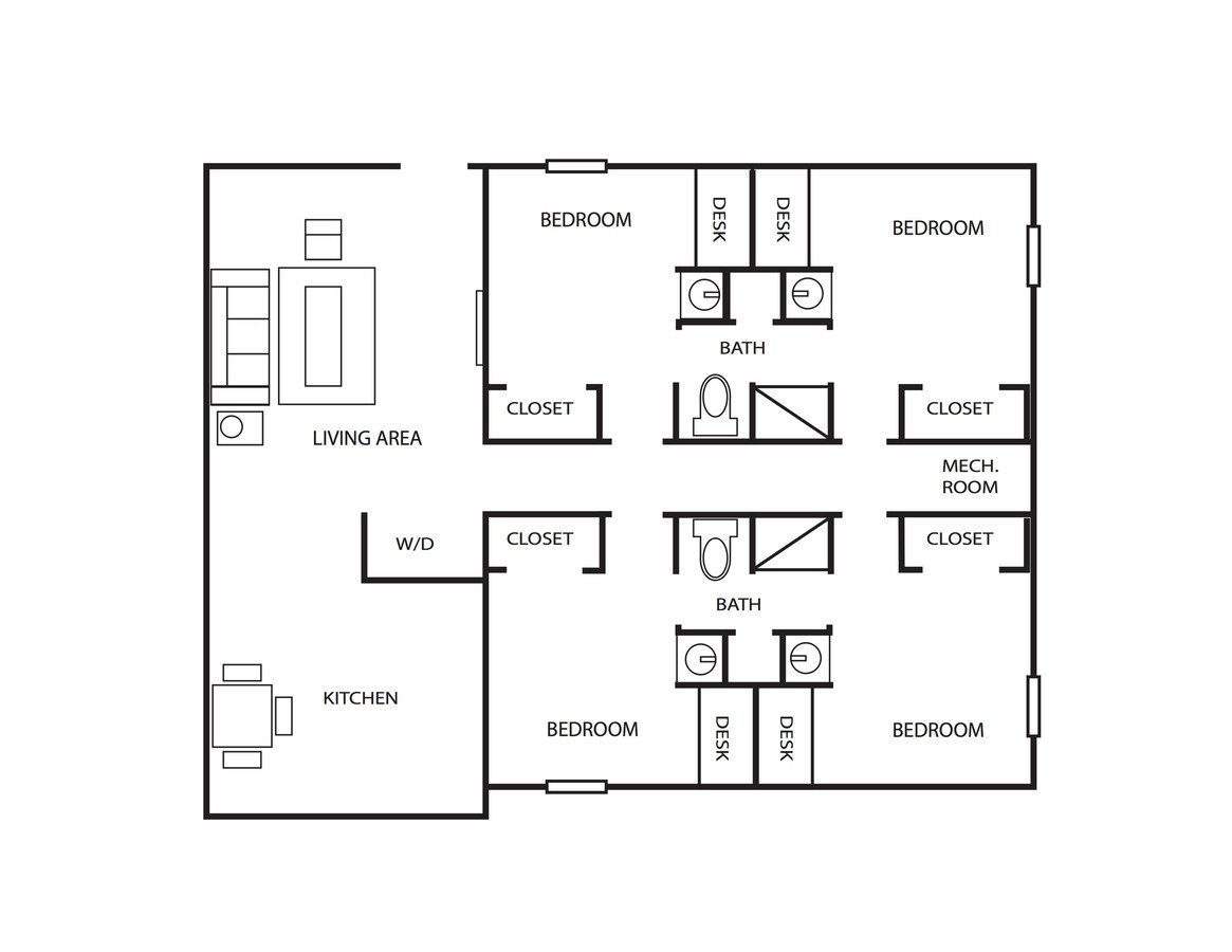 Sq Spring Garden Apartments Greensboro Nc Schematic 4 Bedrooms 2 Bathrooms Apartment For Rent At In