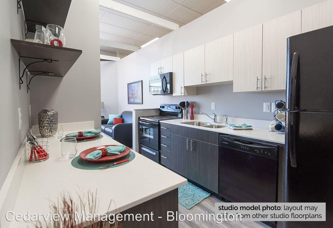 Studio 1 Bathroom Apartment for rent at 200 & 250 S Washington Street in Bloomington, IN