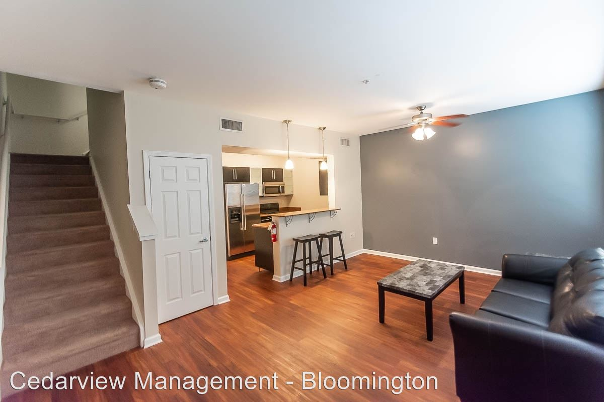 4 Bedrooms 3 Bathrooms Apartment for rent at 602 N. Morton Street Tenth & College Village in Bloomington, IN