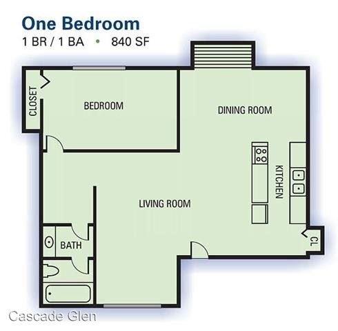 1 Bedroom 1 Bathroom Apartment for rent at 3901 Campbellton Rd Sw in Atlanta, GA