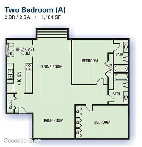 2 Bedrooms 2 Bathrooms Apartment for rent at 3901 Campbellton Rd Sw in Atlanta, GA