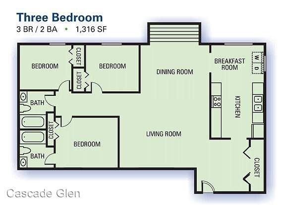 3 Bedrooms 2 Bathrooms Apartment for rent at 3901 Campbellton Rd Sw in Atlanta, GA