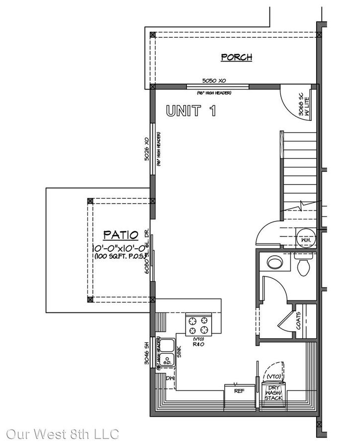 2 Bedrooms 1 Bathroom Apartment for rent at 953 W 8th Ave. 959 W 8th Ave. in Eugene, OR