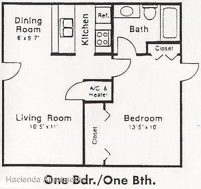 1 Bedroom 1 Bathroom Apartment for rent at 2431 Pinn Rd in San Antonio, TX