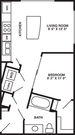 1 Bedroom 1 Bathroom Apartment for rent at 1010 On The Lake in Elkhorn, NE