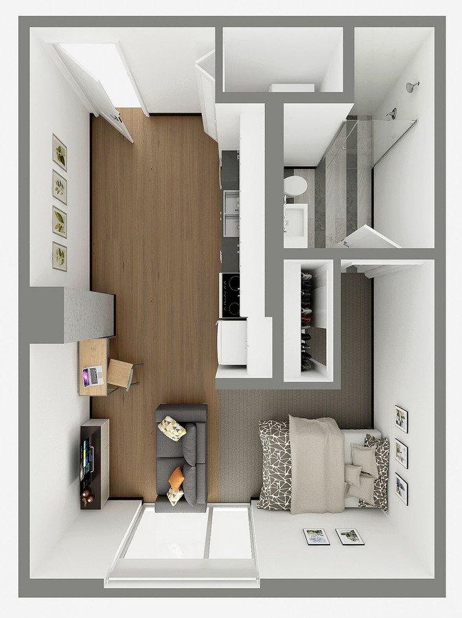 Studio 1 Bathroom Apartment for rent at Sol Y Luna in Tucson, AZ