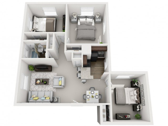 3 Bedrooms 1 Bathroom Apartment for rent at The Alden in Pittsburgh, PA