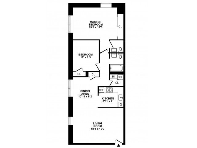 2 Bedrooms 1 Bathroom Apartment for rent at The Wellington in Hatboro, PA