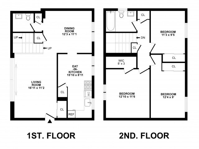 3 Bedrooms 1 Bathroom Apartment for rent at Livingstone in Hatboro, PA
