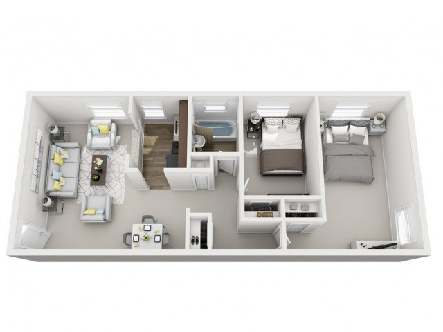 2 Bedrooms 1 Bathroom Apartment for rent at The Alden in Pittsburgh, PA