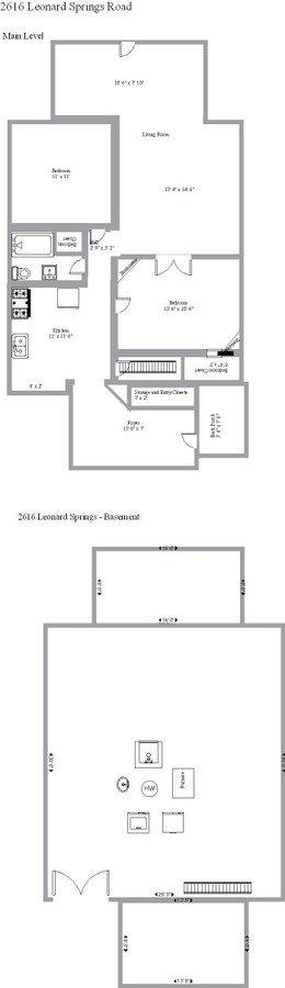 2 Bedrooms 1 Bathroom House for rent at 2616 Leonard Springs Road in Bloomington, IN