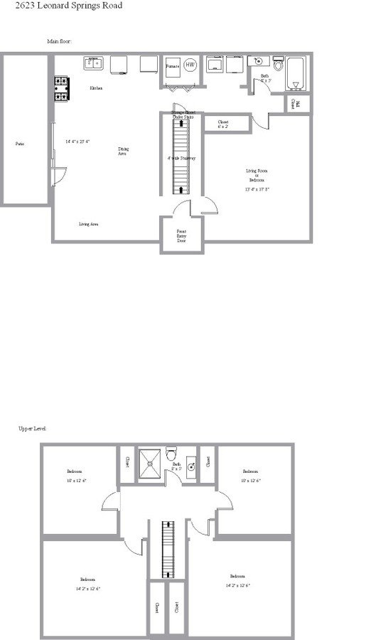 4 Bedrooms 2 Bathrooms House for rent at 2623 S Leonard Springs Rd in Bloomington, IN