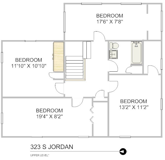 4 Bedrooms 2 Bathrooms House for rent at 323 S. Jordan Ave in Bloomington, IN
