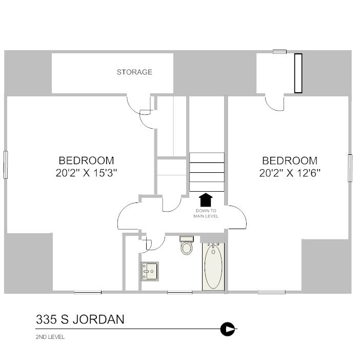 3 Bedrooms 1 Bathroom House for rent at 335 S. Jordan Ave in Bloomington, IN