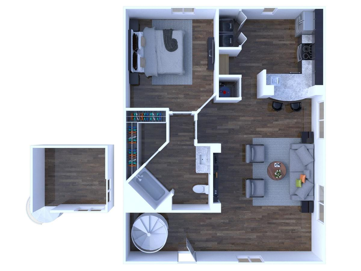 1 Bedroom 1 Bathroom Apartment for rent at Arbors At Carrollwood in Tampa, FL