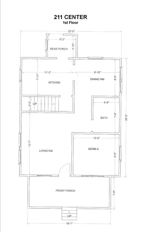 3 Bedrooms 1 Bathroom House for rent at 211 Center St. in East Lansing, MI